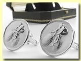 Racing Man Cuff Links
