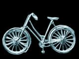 Classic Ladies Bicycle Silver Brooch